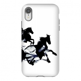 iPhone Xr  Black Horses by Róbert Farkas ()