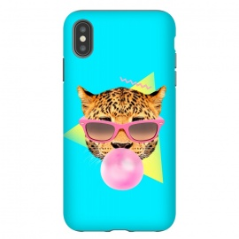 iPhone Xs Max  Bubble Gum Leo by Róbert Farkas ()