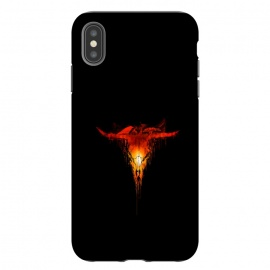 iPhone Xs Max  Apocalypse by Jay Maninang (skull,doom,last day,death,fire,flame,war,surreal)