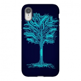 iPhone Xr  Circuitree by  (tree,circuits,branches,nature)