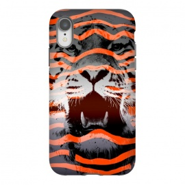 iPhone Xr  Stripped by  (tiger,stripes,nature,wild,wildlife, bigcats,cats)