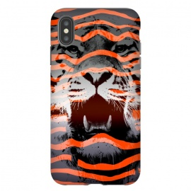 iPhone Xs Max  Stripped by Jay Maninang (tiger,stripes,nature,wild,wildlife, bigcats,cats)