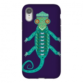 iPhone Xr  chameleon by Parag K (art,illustration,animal,cartton,character,design,chameleon)
