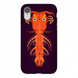 iPhone Xr  Prawn by Parag K (art ,fish ,creative,illustration ,sea,character design,Beach ,Prawn)