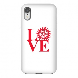 iPhone Xr  Love Hunting by Manos Papatheodorou (supernatural,spn,demon hunting,love,tv series,tv,winchesters)