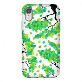 iPhone Xr  Petal Green by  (green,petal,tree,floral,nature,organic)