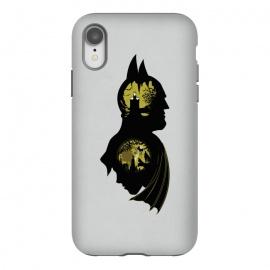 iPhone Xr  Bat Detective by  (samiel,samielart,silhouette,batman,robin,gotham,detective,comic,comics,sherlock holmes,watson)