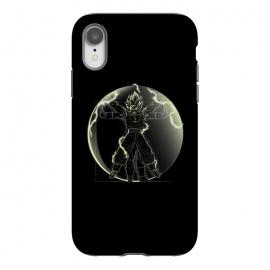 iPhone Xr  Vitruvian Saiyan Goku by  (samiel,samielart,goku,vegeta,saiyan,vitruvian man,leonardo da vinci,dragonball,dbz,ssj)