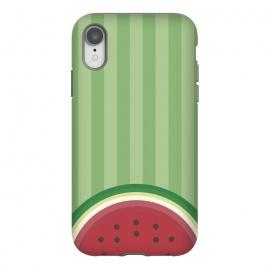 iPhone Xr  Watermelon Pop by  (watermelon,fruit,gourmet,tropical,beach,summer,spring,fresh,minimalist)