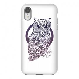 iPhone Xr  CELTIC OWL by  (owl,celtic,celtic-knotwork,knotwork,celtic-spirals)