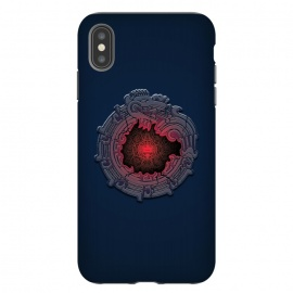 iPhone Xs Max  SUN-STONE by RAIDHO (AZTEC,SUN-STONE,QUETZALKOATL,DEEP,DRAGON)