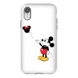 iPhone Xr  Baloon by Alisterny (MickeyMouse, Mickey, Banksy, Ballon, Streetart, Disney,mashup, mashups, funny, popculture, funnytshirt, funnyshirt, tshirt, parody, nerd, geek, geeky, humor, humour, fanart, fan art, movies, movie, film, quotes, cool, design, tee, t-shirt)