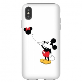 iPhone Xs Max  Baloon by Alisterny (MickeyMouse, Mickey, Banksy, Ballon, Streetart, Disney,mashup, mashups, funny, popculture, funnytshirt, funnyshirt, tshirt, parody, nerd, geek, geeky, humor, humour, fanart, fan art, movies, movie, film, quotes, cool, design, tee, t-shirt)