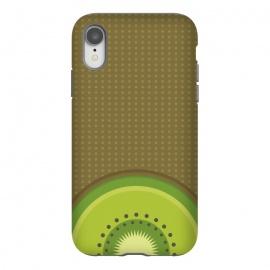 iPhone Xr  Kiwi Pop by  (fruit,food,gourmet,citric,pattern,kiwi,minimalism,tropical,beach,fresh,summer,spring,party)