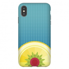 iPhone Xs Max  Blue Hawaii by Dellán (Hawaii,beach,sun,fresh,summer,spring,juice,fruit,good vibes,tropical,blue,foot,gourmet,chef)
