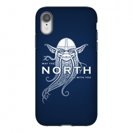 iPhone Xr  NORTH by RAIDHO (star wars,yoda,vikings,may the force be with you,parody,knotwork)
