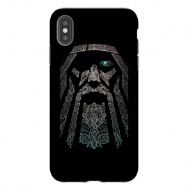 iPhone Xs Max  ODIN by RAIDHO (ODIN,vikings,knotwork,nordic mythology,ravens,wolves,norse god)
