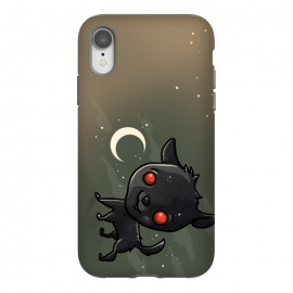 iPhone Xr  Cute Black Shuck by Q-Artwork (dog,cute,kawaii,puppy,pet,black shuck,character design,animal)
