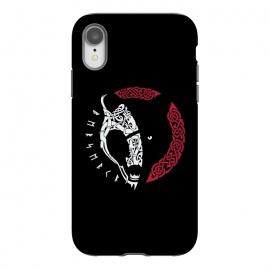 iPhone Xr  BERSERKR by  (BERSERKR,BEAR,VIKINGS,NORDIC,KNOTWORK,RUNES)