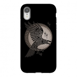 iPhone Xr  RAVEN by RAIDHO (RAVEN,VIKINGS,MOON,KNOTWORK)