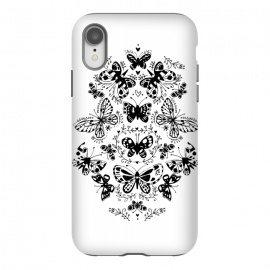 iPhone Xr  Ink butterfly by Laura Grant
