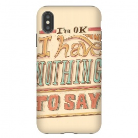Im ok by Ilustrata (lettering , letter , ilustration , word , words , bold , retro , vintage , design , tipography , tipograpy , tipo)