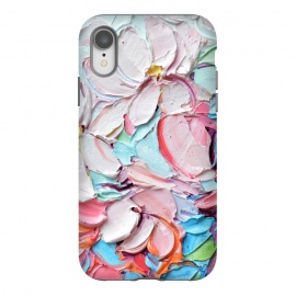 iPhone Xr  Cherry Blossom Bouquet by Ann Marie Coolick (cherry blossoms,spring,flowers,pink,floral,texture,chic)