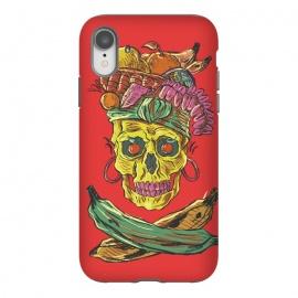 iPhone Xr  Carmen Death by  (music , musical , rock , pop , song , culture , carmen-miranda , skull , death , skeleton , skulls , dead , halloween , dark)