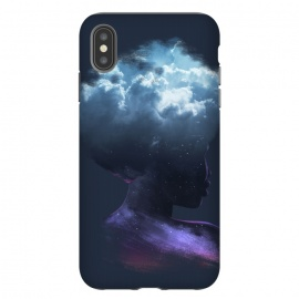 iPhone Xs Max  HEAD ON THE CLOUDS by Ilustrata