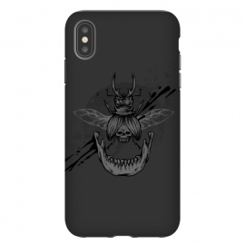 iPhone Xs Max  Beetle jaw by Lucas Dutra (beetle,skull,velozobas,splat,teeth,mandible)