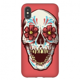 iPhone Xs Max  Los Muertos by Lucas Dutra (dia de los muertos,muertos,mexico,calavera,calaca,flower,tequila)