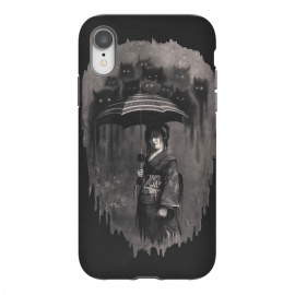 iPhone Xr  Lady Rain by 38 Sunsets (japanese,japan,kimono,rain,cats,ghosts,ghost,geisha,scary,spirit,texture,monochrome,mysterious,woman,girl,horror,fantasy,rain drops,manga,anime,miyazaki,portrait,mystic,dream,dreamy)
