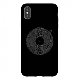 iPhone Xs Max  Soundscape by Grant Stephen Shepley (music,band,bands,80's,joy division,ian curtis,song,classic,mountain,lines,black,white,vinyl,parody,LP,record)