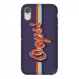 iPhone Xr  Oops! by Dellán (oops,mess,typographic,text,retro,80's,purple,typography design,hipster,fresh,summer,spring,fashion,colorful,ink,paint,painter,artist,art,good vibes,trend)