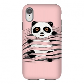 iPhone Xr  Little Panda by Coffee Man (panda, little panda,animal,nature,cute,funny,wild,adorable,pet,pet lover,pets, pets lover)
