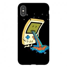 iPhone Xs Max  Vomit retro by  (video game,gamer,gameboy,retro,vomit,funny,humor,vintage,pixel,gamer lover,geek,nerd,pop,pop culture,adorable,cute)