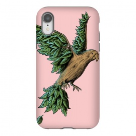 iPhone Xr  Wood Bird by Coffee Man