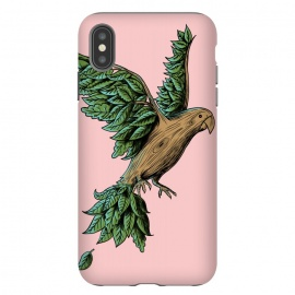 iPhone Xs Max  Wood Bird by Coffee Man