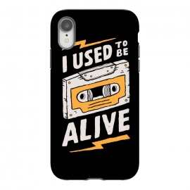 iPhone Xr  Alive by Tatak Waskitho (funny,90s,cassette)