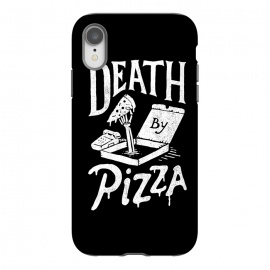 iPhone Xr  Death By Pizza by Tatak Waskitho (pizza,funny)
