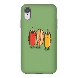 Best Friends by Xylo Riescent (Robo Rat,condiments,hotdog,sandwich,mustard,friends,funny,catsup,cool,awesome,green)