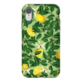 iPhone Xr  Lemonade V2 by Uma Prabhakar Gokhale (graphic, acrylic, other, pattern, vector, botanical, lemon, lemons, fruit, food, citrus, exotic, floral, nature)