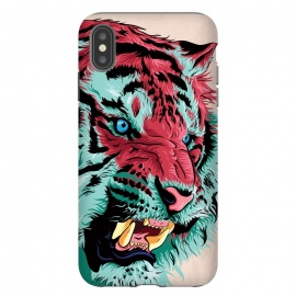 iPhone Xs Max  Tiger by Roland Banrévi (tiger,big cat,wild,animal,animals)