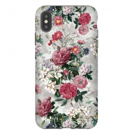 iPhone Xs Max  Floral Pattern III by Riza Peker (Floral,design,art,RizaPeker)