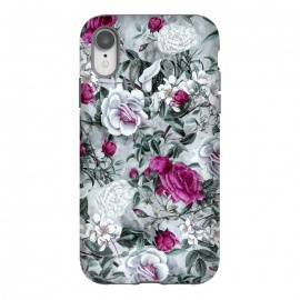 iPhone Xr  Floral Pattern V by Riza Peker (flowers,roses,romantic,art,design,RizaPeker)