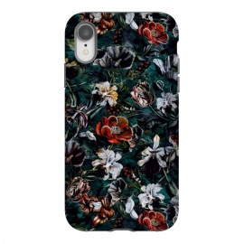 iPhone Xr  Floral Pattern VI by Riza Peker (Floral,design,art,botanical,flowers,Rizapeker)
