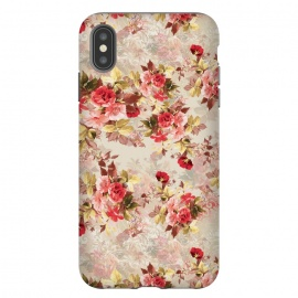 iPhone Xs Max  Floral Pattern X by Riza Peker (Flowers,Roses,art,design,RizaPeker)