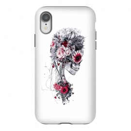 iPhone Xr  Skeleton Bride by Riza Peker (Floral,skull,collage,tattoo,art,design,rizapeker)