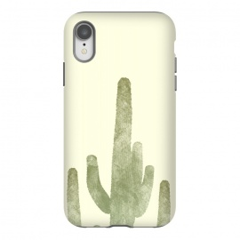 iPhone Xr  Cactus by Rui Faria (cactus,desert,ink,paint,landscape,hot,summer,spring)
