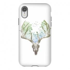 iPhone Xr  Deer Skull by  (deer,stag,deer skull,skull,nature,spring,summer,animal,animals)